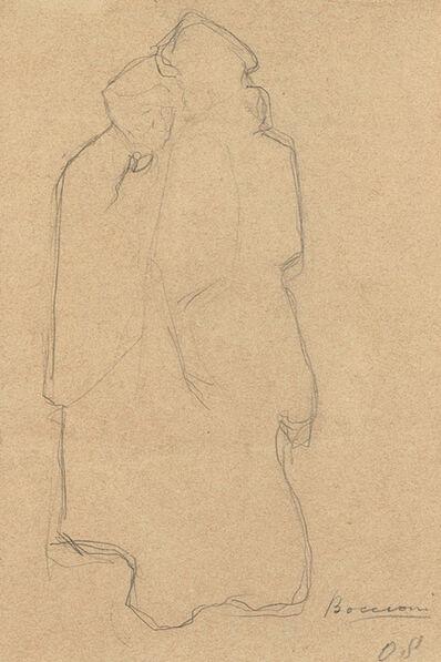 "Umberto Boccioni, '""Two Women""', 1903-1904"