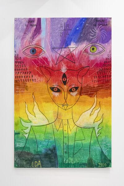 Diego de Aduriz, 'Gato arcoíris ', 2021