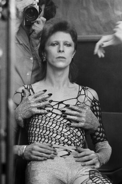 Terry O'Neill, 'Ziggy Stardust Backstage, Terry's Reflection', ca. 1970