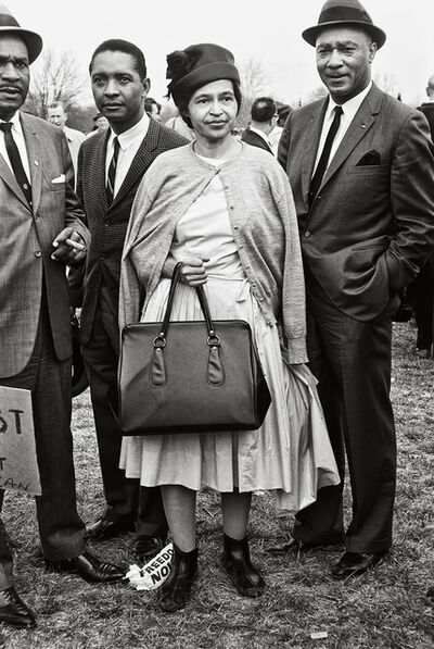 Steve Schapiro, 'Rosa Parks, Selma March', 1965