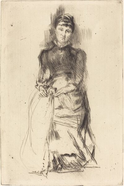 James Abbott McNeill Whistler, 'Agnes', ca. 1873/1875