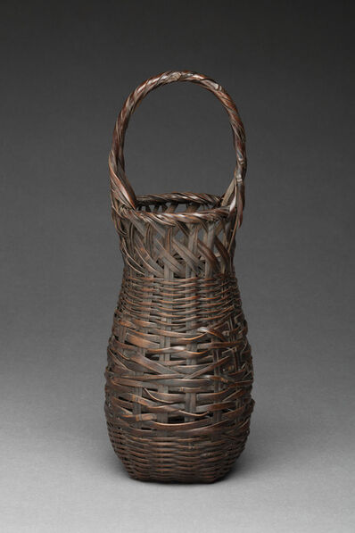 Wada Waichisai II, 'Basket for Flowers', 1904 to 1920s