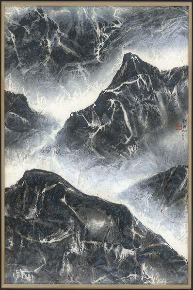 Liu Kuo-sung 刘国松, '相望始登高 Take a far-sighted view', 2015