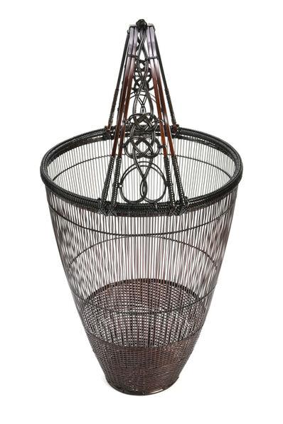 Tanabe Chikuunasai IV, 'Splayed Flower Basket with  Decorative Knots  19 0278', 2019
