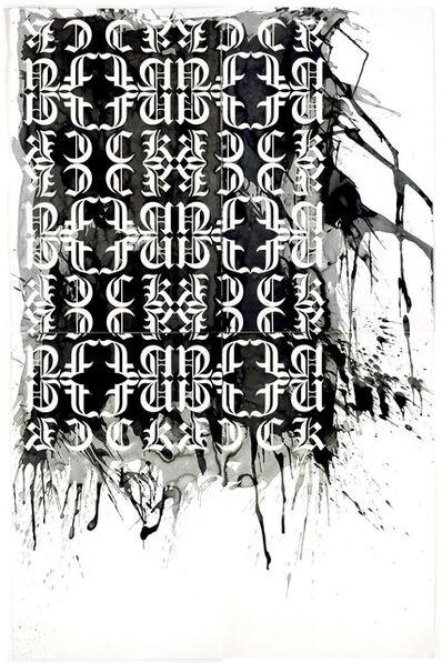 Kendell Geers, 'F. F. S. 392', 2006