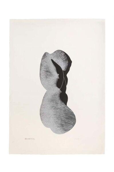 Giacomo Porzano, 'Silhouette III', 1972