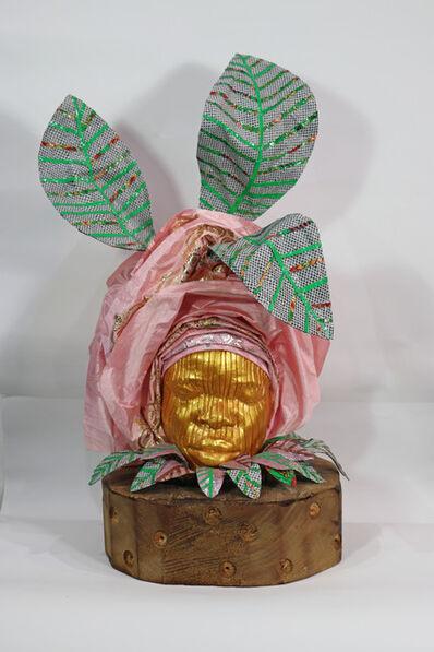 Layo Bright, 'Aso Ebi: Mummy's Pink Gele', 2020