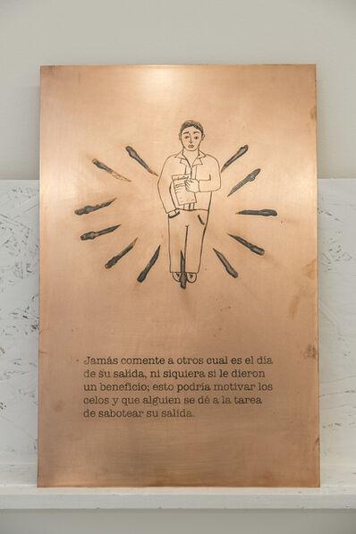 Jhafis Quintero, 'Maximas de Seguridad Pag 50 Cobre', 2016