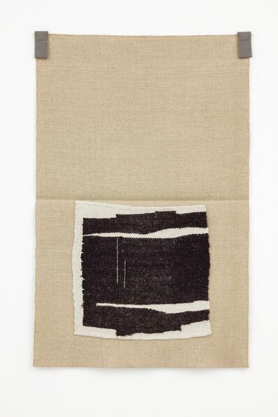 Helen Mirra, 'Undyed ecru, undyed blacks', 2015