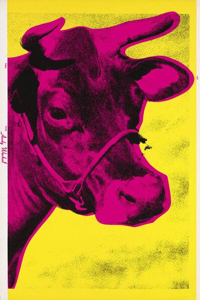 Andy Warhol, 'Andy Warhol Cow wallpaper (MoMa)', 1966
