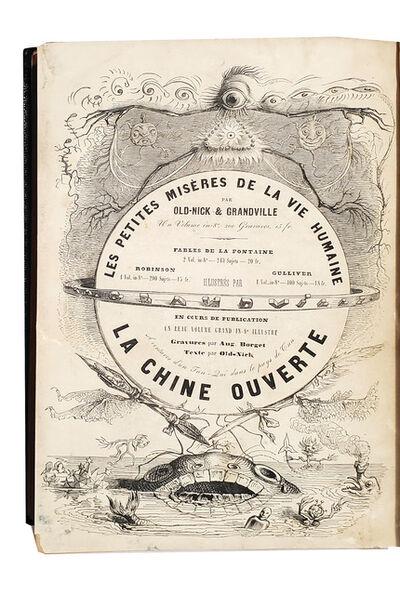 Jean-Ignace-Isidore Grandville, 'Un Autre Monde.  Transformations, visions, incarnations... et autres choses', 1844