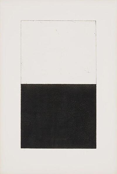 Brice Marden, 'Untitled (image c) from Adriatics Portfolio', 1973