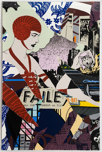 FAILE, 'Night Bender', 2015