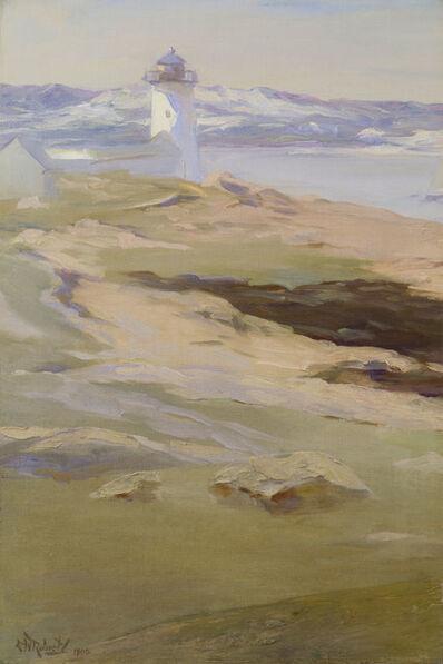 Elizabeth Wentworth Roberts, 'Lighthouse across Sand Dunes, Annisquam', 1908