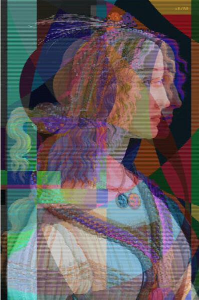 Pınar DU PRE, 'Portrait of Young Lady', 2019