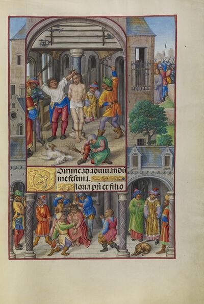Master of James IV of Scotland, 'The Flagellation', 1510-1520