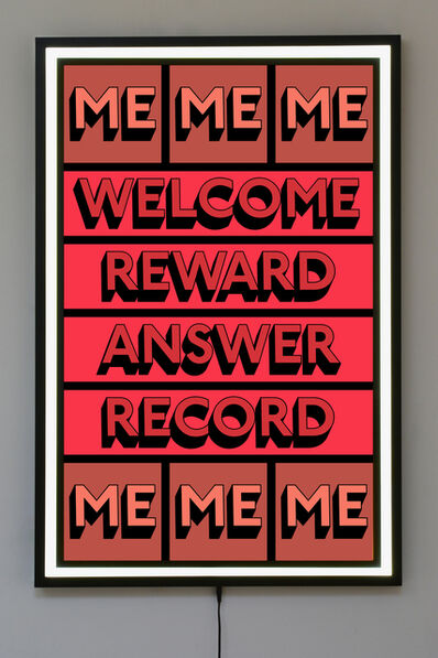 Tim Fishlock, 'WELCOME ME', 2019