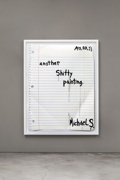 Michael Scoggins, 'Another Shitty Painting', 2014