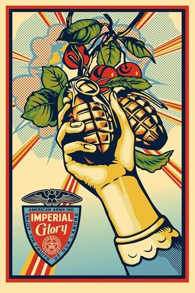 Shepard Fairey, 'Imperial Glory', ca. 2015