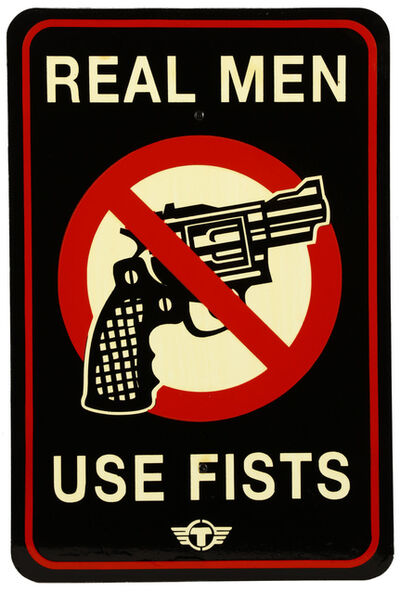 TrustoCorp, 'Real Men Use Fists', 2012