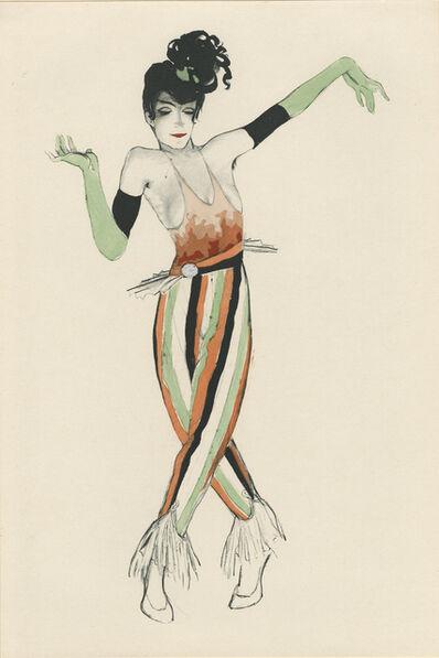 """Walter Schnackenberg, '""""Scherzo II"""", Ballet und Pantomime (plate 15)', 1920"""