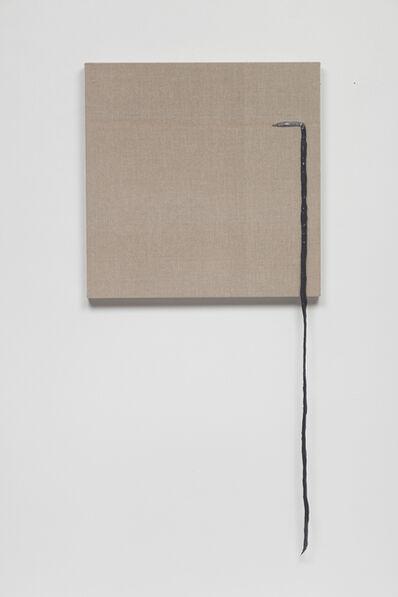 Analía Saban, 'Threaded (Gray)#2', 2017