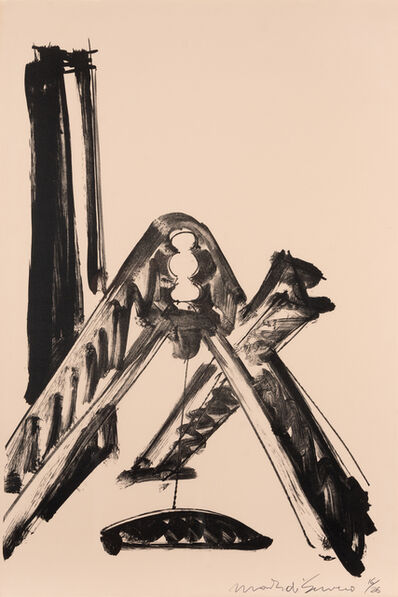Mark di Suvero, 'For Rilke', 1977