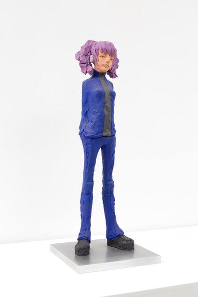 Hiroto Kitagawa, 'New Type- Purple Hair', 2005