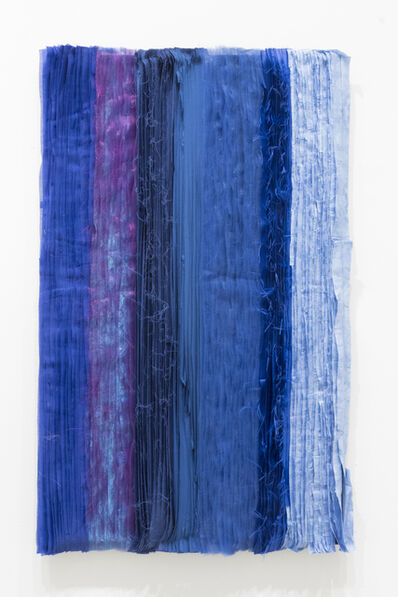 Joël Andrianomearisoa, 'Blue take me to the end of all loves (10)', 2019