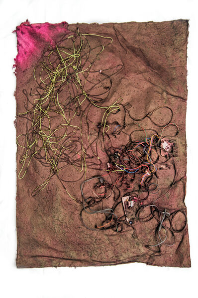 Jessica Stockholder, 'Untitled (Kathmandu Residency 060)', 2019