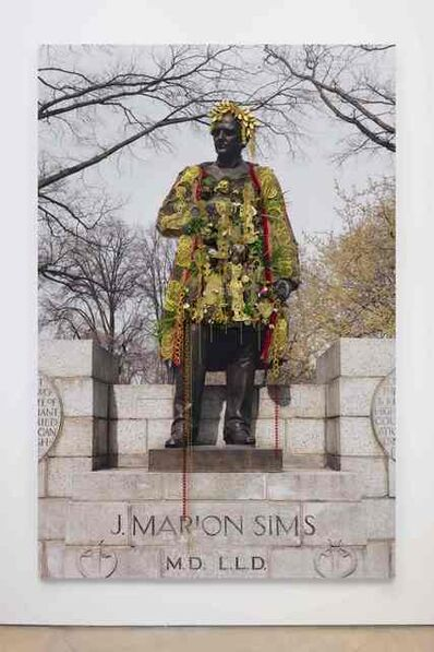 Hew Locke, 'J. Marion Sims, Central Park ', 2018