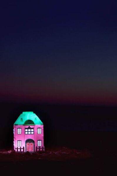 Elisa Von Brockdorff, 'Plastic Dreams - Good night (Cyan)', 2011
