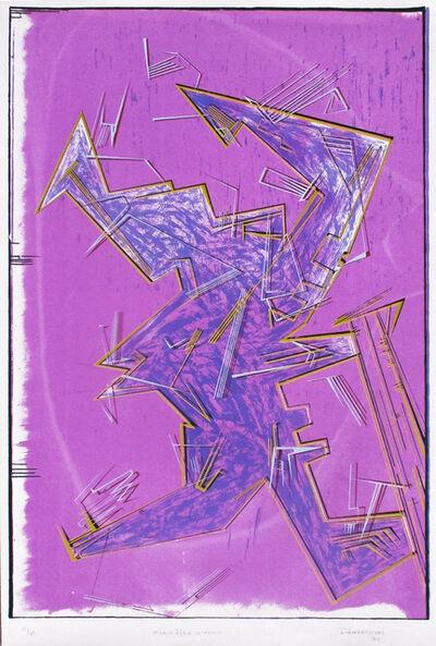 Bob Dombrowski, 'Eight of Wands', 1985
