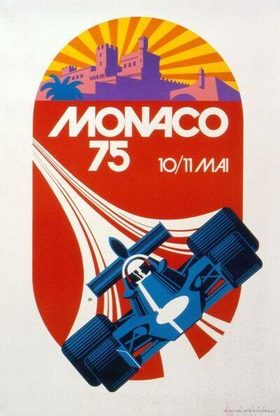 Roland Hugon, 'Monaco Grand Prix 1975', 1991