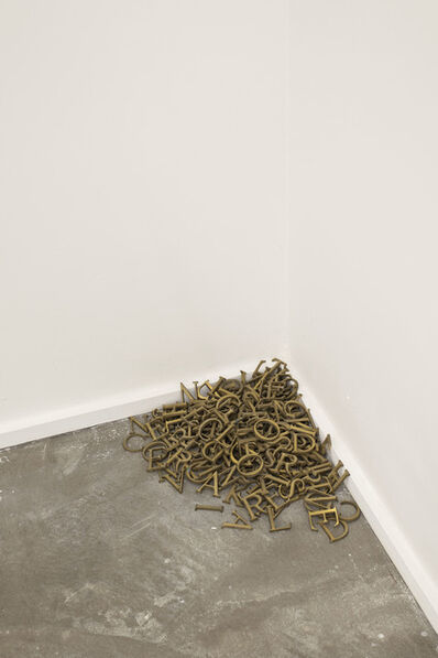 Lawrence Carroll, 'Untitled (poem)', n.d.