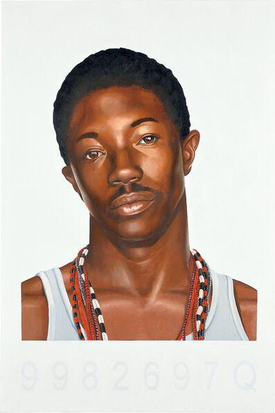 Kehinde Wiley, 'Mugshot Profile, NYPD', 2006
