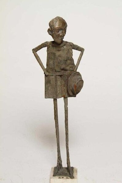 William King, '1960s Pop Art Unique Cast Bronze Sculpture Americana Folk Art William King', 1960-1969
