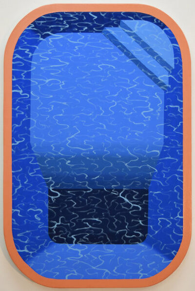 Adam Eddy, 'Pool with Orange Border', 2017