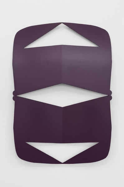 Matt Keegan, 'Lisbon Cutout (Purple Violet)', 2016