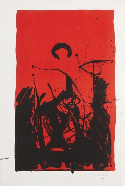 Robert Motherwell, 'Burning Sun', 1985