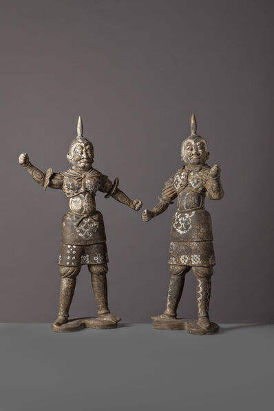 Unknown Chinese, 'Warriors', China, Early Tang Dynasty (618, 907), Late 7th Century