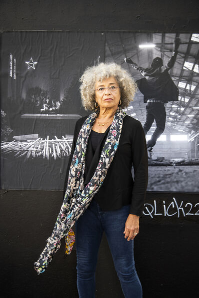 Lewis Watts, 'Angela Davis on 14th Street, Oakland', 2020