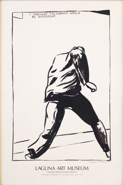 Raymond Pettibon, 'Untitled (I Thought California Would be Different)', 1992