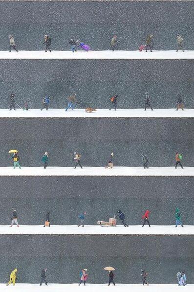Xan Padron, 'Time Lapse. Snow Day, Midtown, NYC', 2021