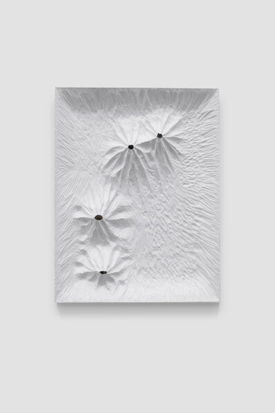 Yang Xinguang, 'Untitled (White Woodboard 2019 No.3)', 2019