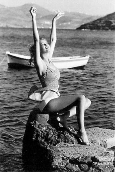 Ellen von Unwerth, 'Mermaid, Mykonos ', 1990