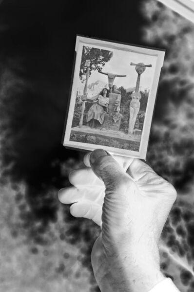 Maxime Rossi, 'Bob's hand holding the negativ developed in Prescott', 2014