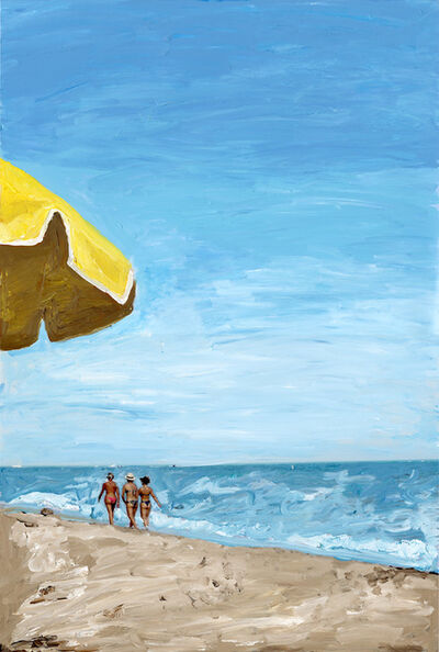 Madeleine Gross, '3 Ladies on the Beach Miami', 2020