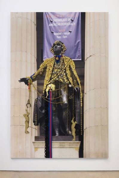 Hew Locke, 'Washington, Federal Hall', 2018