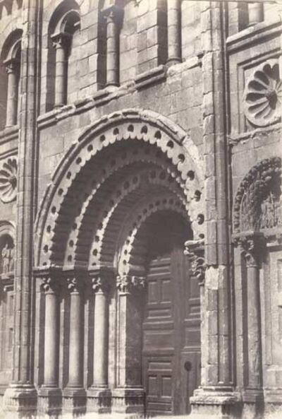 Charles Clifford, 'Zamora, La Catedral, Porte del Sol o del Obispo', 1854/1854c